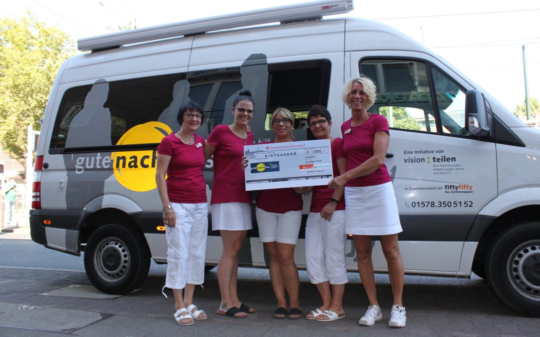 1.000 Euro für den Gute-Nacht-Bus